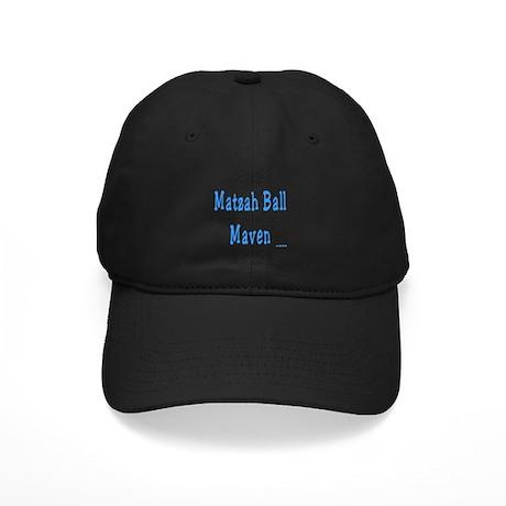 Matzah Ball Maven Passover Black Cap