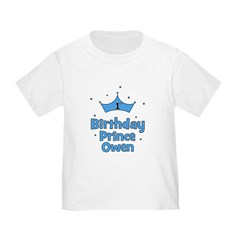 1st Birthday Prince OWEN! T