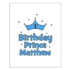 1st Birthday Prince MATTHEW! Posters
