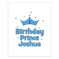 1st Birthday Prince JOSHUA! Posters