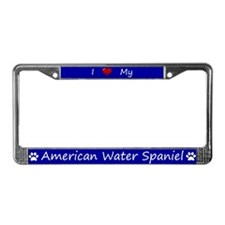Blue I Love My American Water Spaniel Frame