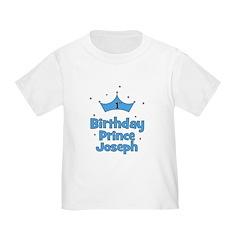 1st Birthday Prince JOSEPH! T