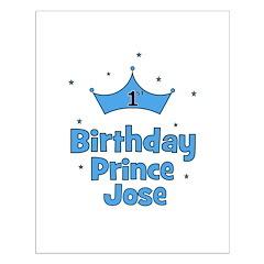 1st Birthday Prince JOSE! Posters