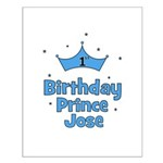 1st Birthday Prince JOSE! Small Poster