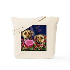 RHODESIAN RIDGEBACK Valentine Tote Bag