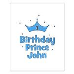 1st Birthday Prince JOHN! Small Poster