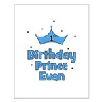 1st Birthday Prince EVAN! Small Poster
