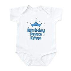 1st Birthday Prince ETHAN! Infant Bodysuit