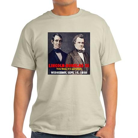 Lincoln-Douglas Debate Light T-Shirt