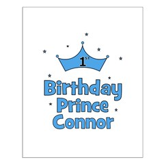 1st Birthday Prince CONNOR! Posters