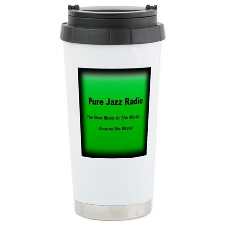 Pure Jazz Radio Stainless Steel Travel Mug