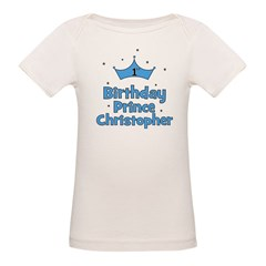 1st Birthday Prince CHRISTOPH Tee