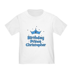 1st Birthday Prince CHRISTOPH T