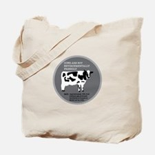 Cow Fact 1 Tote Bag