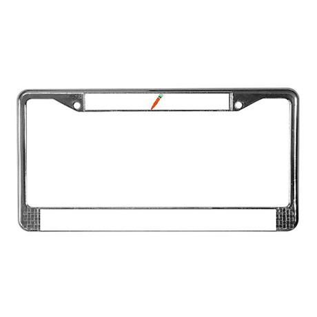 Carrot License Plate Frame