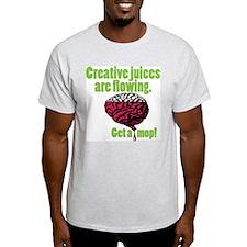 Mop & Bucket T-Shirt