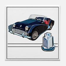Funny Sports car Tile Coaster