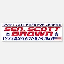 Scott Brown 2012 Hope Sticker (Bumper)