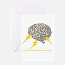 Brainstorm Three Greeting Card