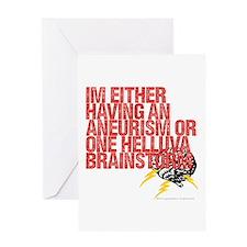 Brainstorm.4 Greeting Card