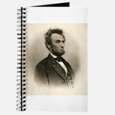 Abraham Lincoln Sepia Portrait Journal