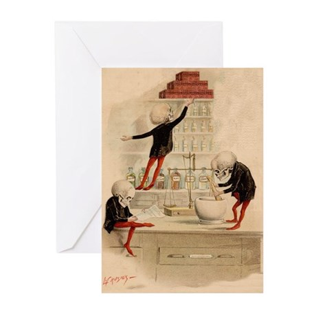 Pas De Substitution Greeting Cards (Pk of 10)