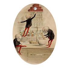 Pas De Substitution Ornament (Oval)