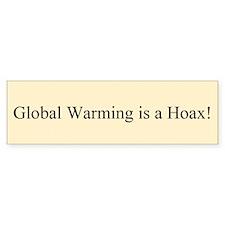 Global Warming Hoax Bumper (Bumper)