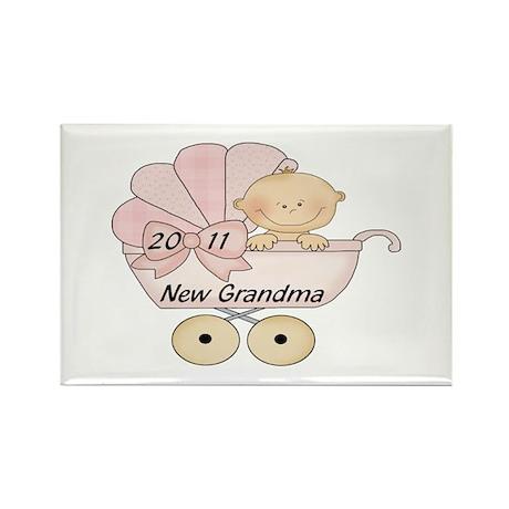 2011 Grandma (pink) Rectangle Magnet (10 pack)