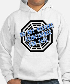 Do Not Mistake Coincidence for Fate Hoodie