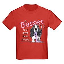 Basset Girls Friend T