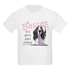 Basset Girls Friend T-Shirt