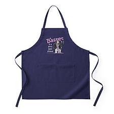 Basset Girls Friend Apron (dark)
