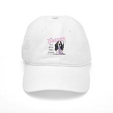 Basset Girls Friend Baseball Cap