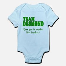 TEAM DESMOND with Quote Infant Bodysuit