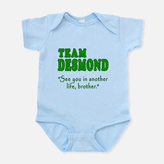 TEAM DESMOND with Quote Infant Bodysuit