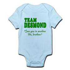 TEAM DESMOND with Quote Onesie