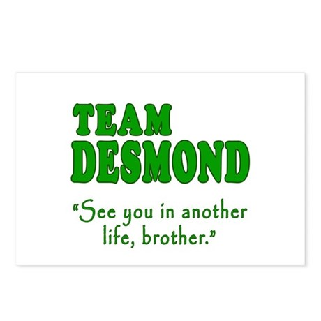 TEAM DESMOND with Quote Postcards (Package of 8)