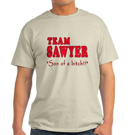 TEAM SAWYER with SOB Light T-Shirt