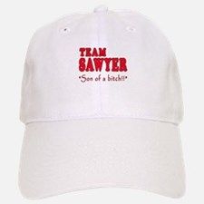 TEAM SAWYER with SOB Baseball Baseball Cap
