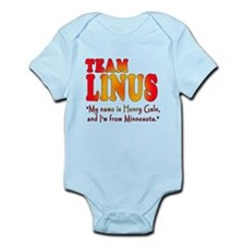 TEAM LINUS with Ben Linus Quote Infant Bodysuit