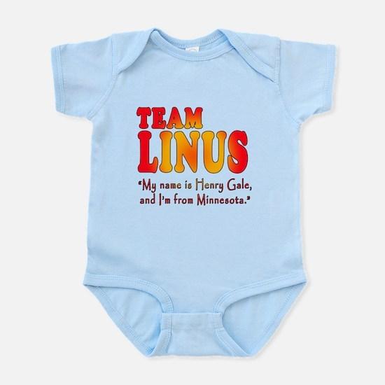 TEAM LINUS with Ben Linus Quote Infant Bodysuit