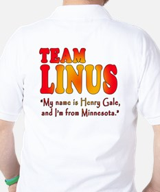 TEAM LINUS with Ben Linus Quote Golf Shirt