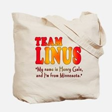 TEAM LINUS with Ben Linus Quote Tote Bag