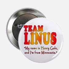 """TEAM LINUS with Ben Linus Quote 2.25"""" Button"""