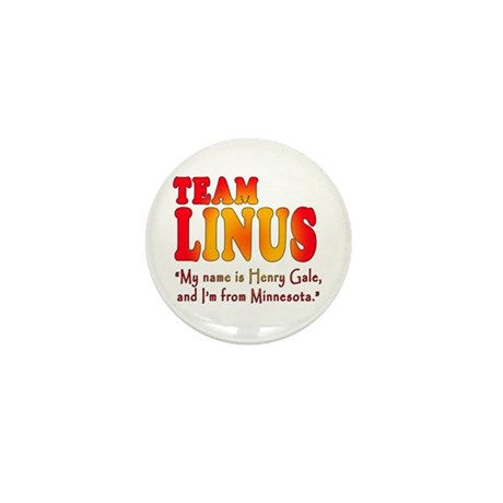 TEAM LINUS with Ben Linus Quote Mini Button (10 pa
