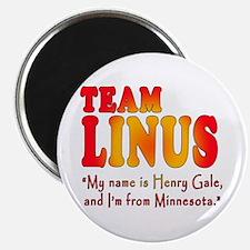 TEAM LINUS with Ben Linus Quote Magnet