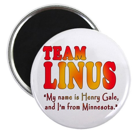 "TEAM LINUS with Ben Linus Quote 2.25"" Magnet (10 p"
