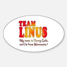 TEAM LINUS with Ben Linus Quote Decal