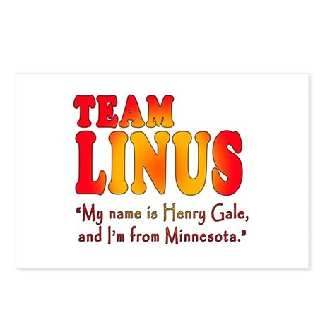 TEAM LINUS with Ben Linus Quote Postcards (Package